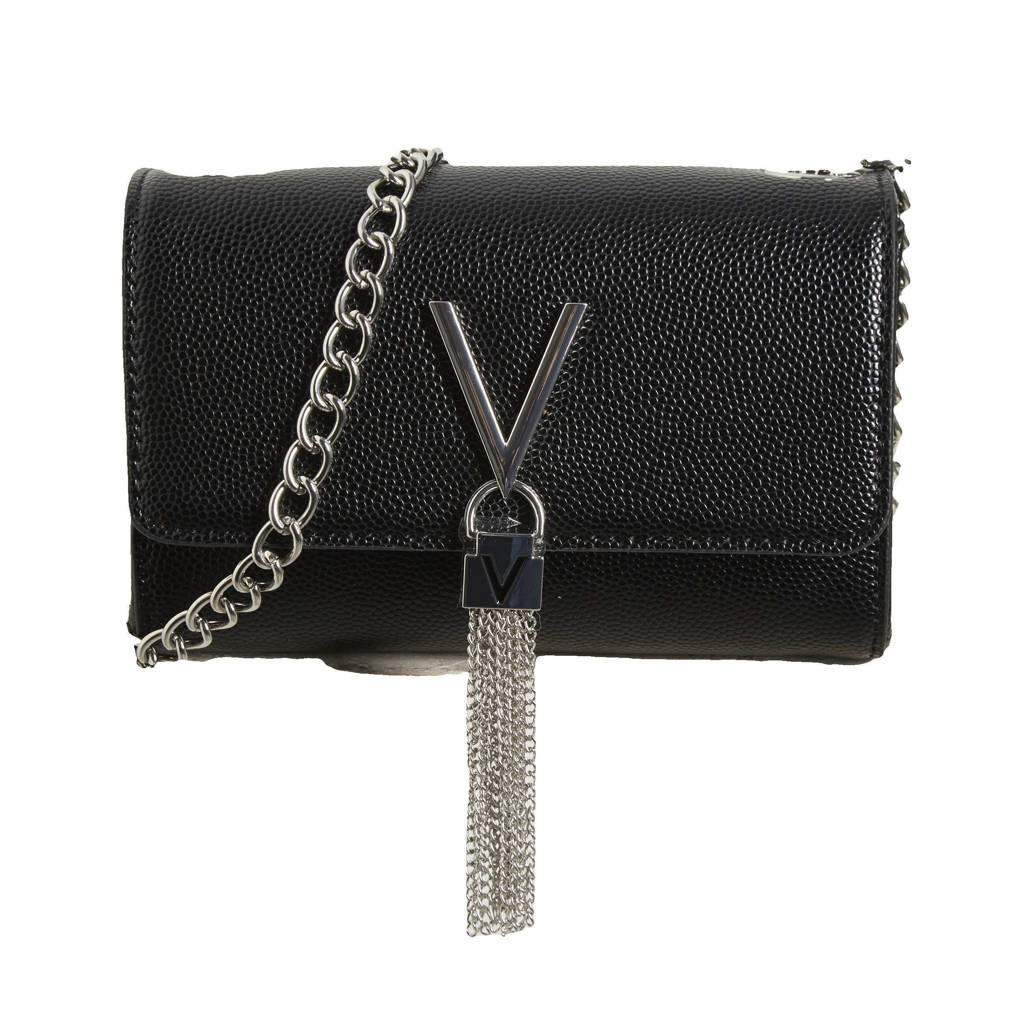 Valentino Bags  crossbody tas Divina zwart, Zwart