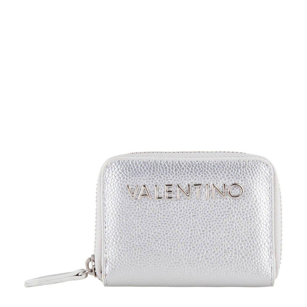 Valentino portemonnee zilver, Zilver