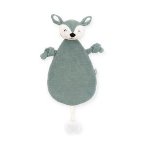 knuffeldoekje Deer ash green knuffeldoekje