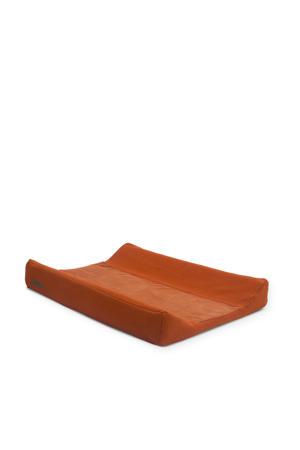 aankleedkussenhoes 50x70 cm Brick velvet rust