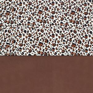 baby ledikantlaken120x150 cm Leopard natural