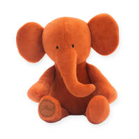 Jollein Elephant  rust knuffel 37 cm, Brique