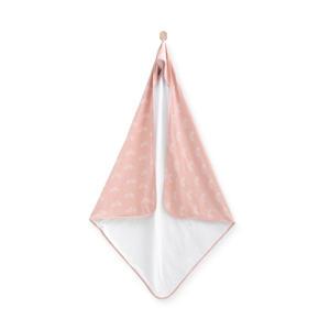 badcape 100x100 cm Rainbow blush pink