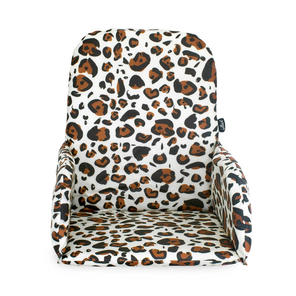Jollein stoelverkleiner Leopard natural, Beige/bruin