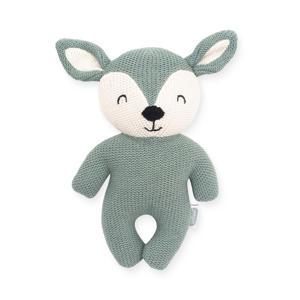 Deer ash green knuffel 23 cm