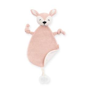 knuffeldoekje Deer pale pink knuffeldoekje