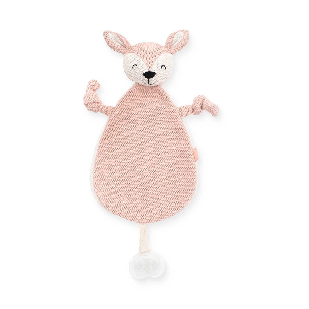 Jollein knuffeldoekje Deer pale pink knuffeldoekje, Roze