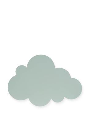 wandlamp Clouds groen