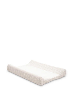 aankleedkussenhoes 50x70 cm River knit cream white