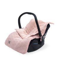 Jollein voetenzak groep 0+ 3/5 punts  River knit pale pink, Roze