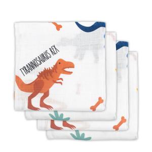 hydrofiele luiers 70x70 cm Dinosaur - set van 4