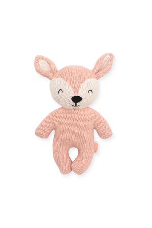 Deer pale pink knuffel 23 cm