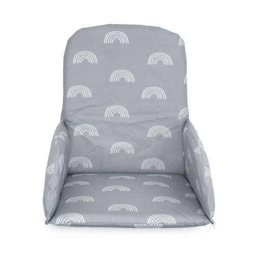 Jollein stoelverkleiner Rainbow grey