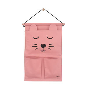 wandorganizer Canvas Animal club rouge