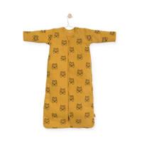 Jollein 4 seizoenen baby slaapzak 110 cm Tiger mustard, Geel