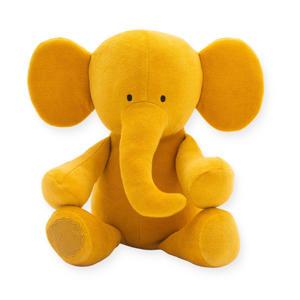 Elephant mustard knuffel 37 cm