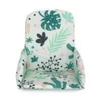 Jollein stoelverkleiner Leaves, Groen/roze