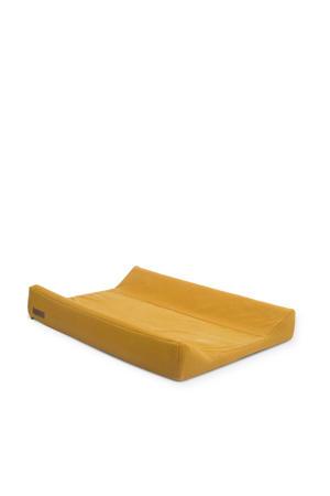 aankleedkussenhoes 50x70 cm Brick velvet mustard