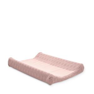 aankleedkussenhoes 50x70 cm River knit pale pink