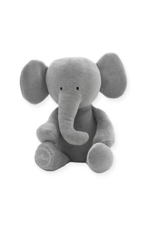 Elephant  storm grey knuffel 37 cm