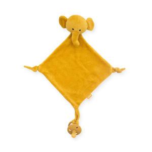 knuffeldoekje Elephant mustard knuffeldoekje