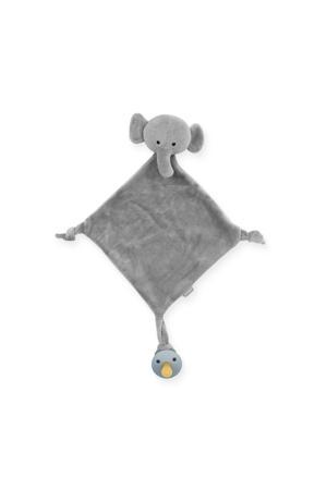 knuffeldoekje Elephant storm grey knuffeldoekje