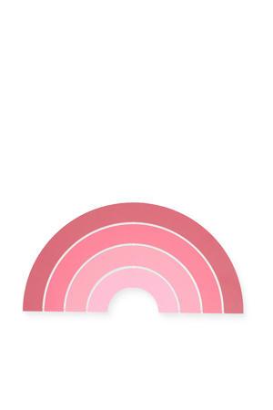 wandlamp Rainbow roze