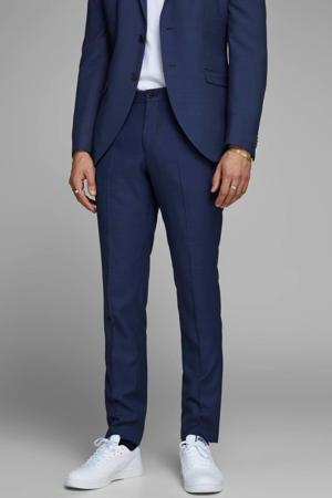 PREMIUM slim fit pantalon blauw