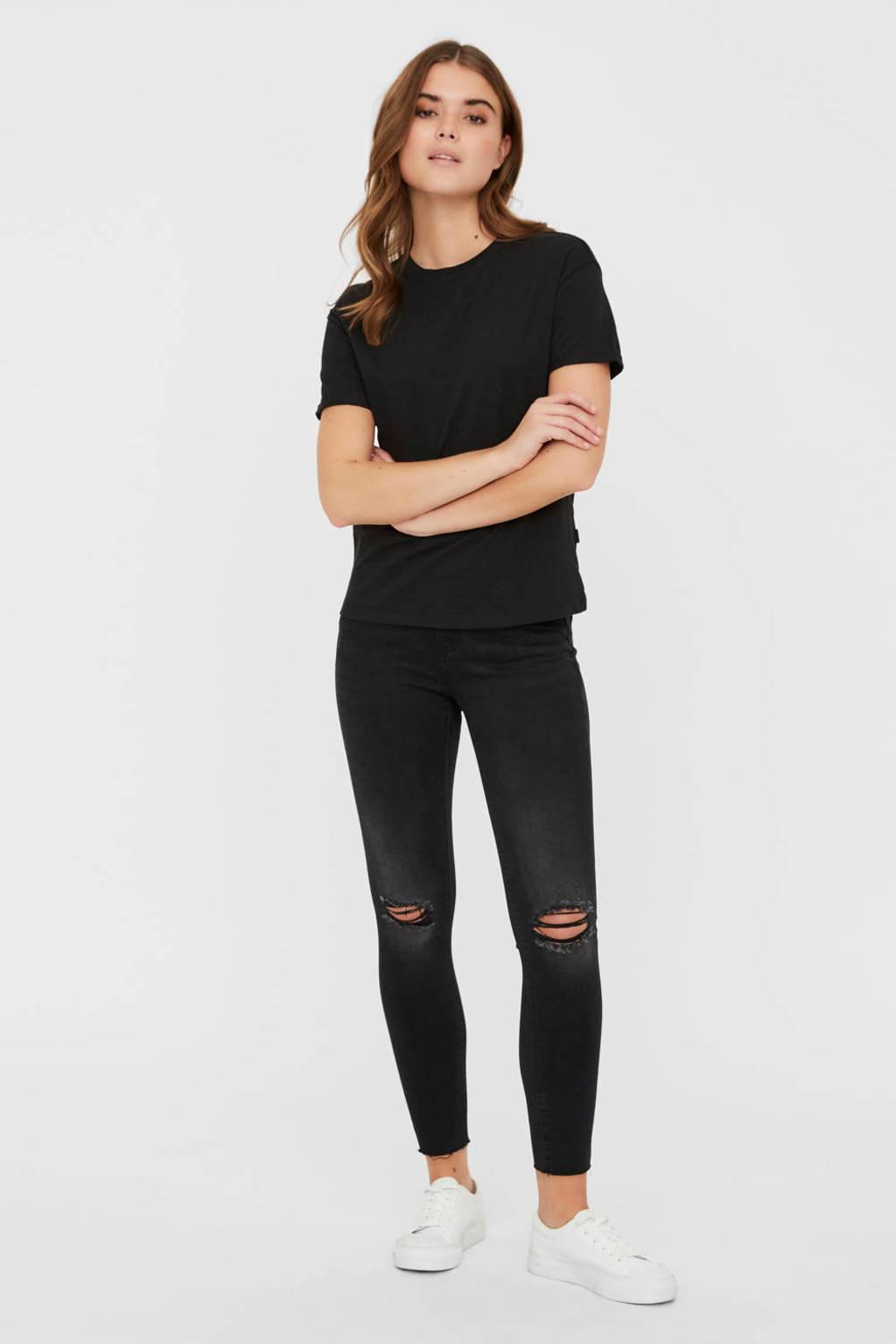 NOISY MAY T-shirt zwart, Zwart