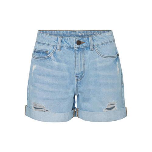 NOISY MAY jeans short lichtblauw