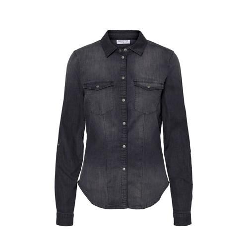 NOISY MAY blouse donkergrijs