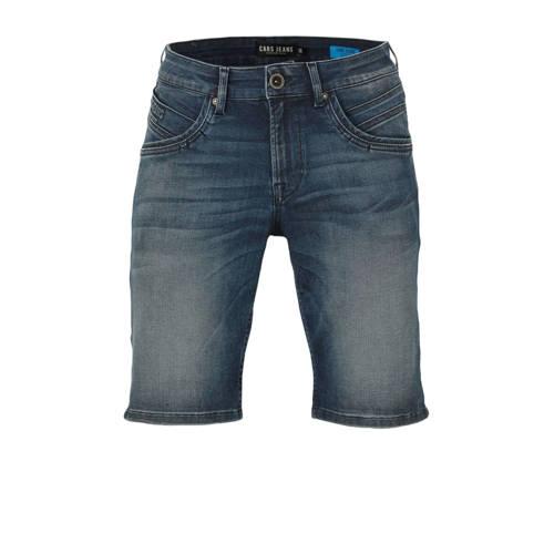Cars regular fit jeans short dark denim