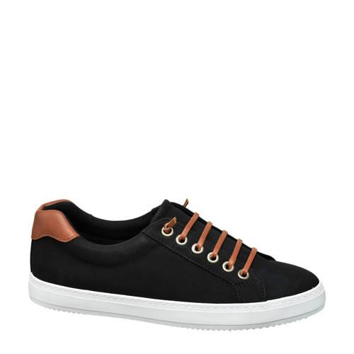Vty slip-on sneakers zwart