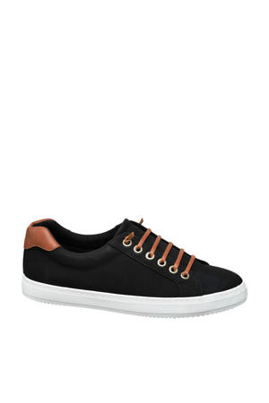 slip-on sneakers zwart