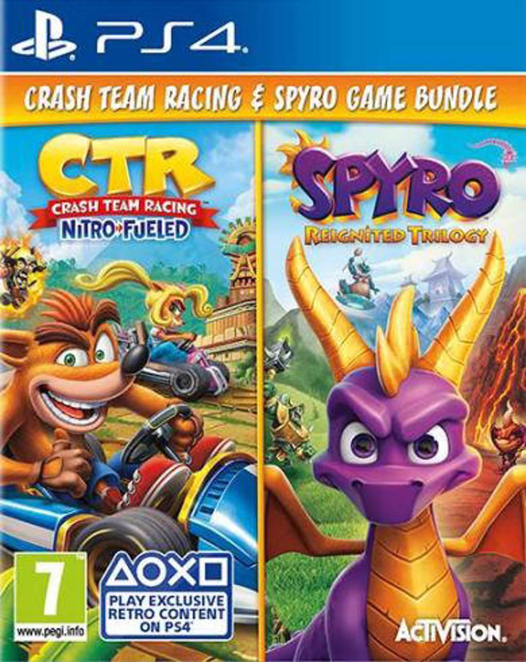 Bundle Crash team racing / Spyro trilogy (PlayStation 4)