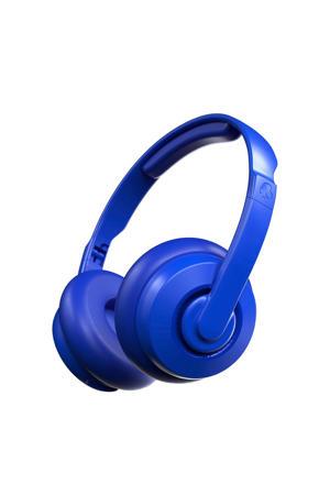 Cassette draadloze on-ear hoofdtelefoon (Blauw)
