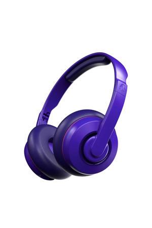 Cassette draadloze on-ear hoofdtelefoon (Paars)
