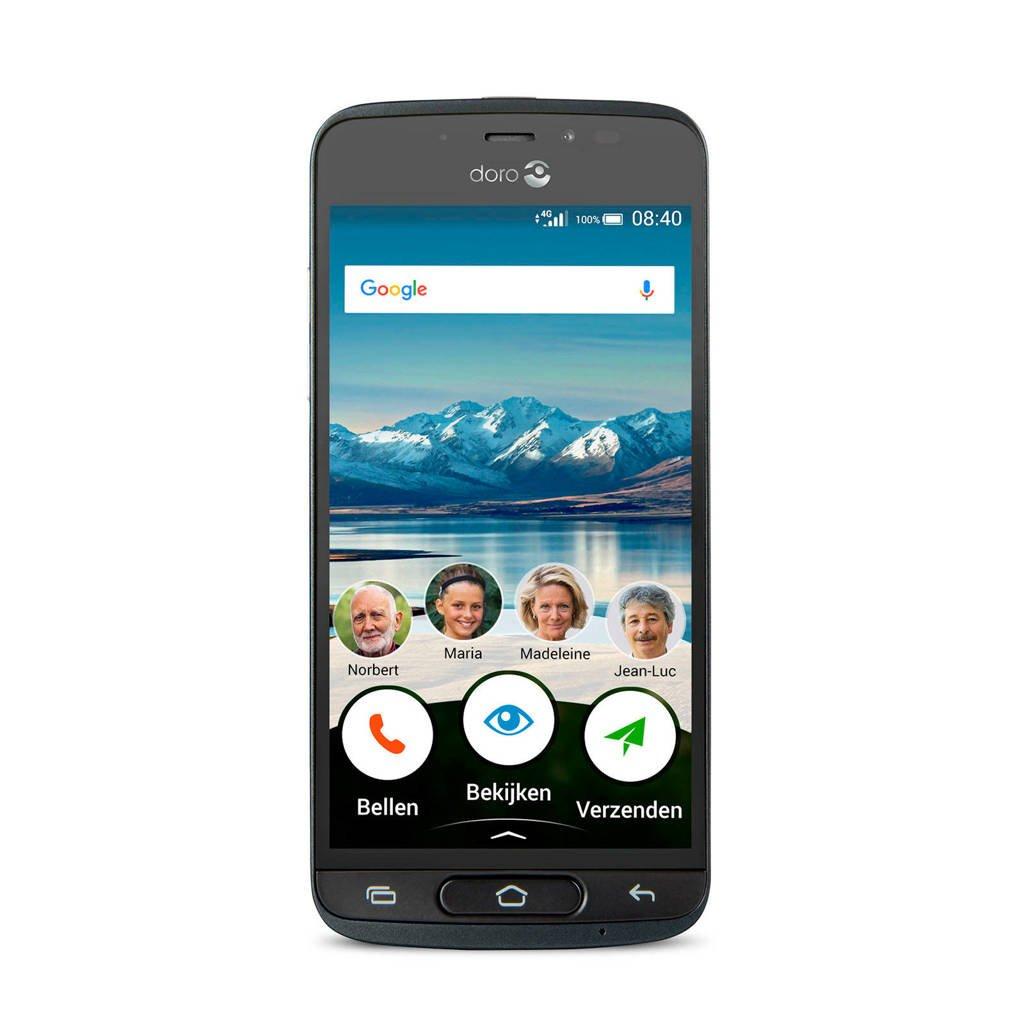 Doro 8040 mobiele telefoon, Zwart