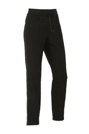 Canda slim fit joggingbroek zwart