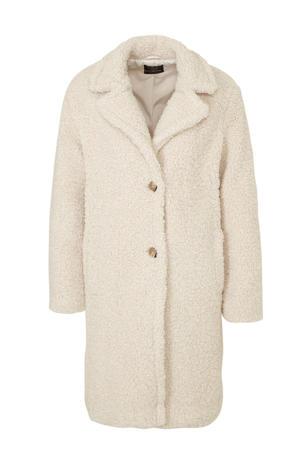 Clockhouse teddy jas beige