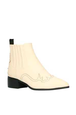 Oracia  chelsea boots off white