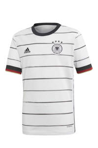 adidas Performance Junior Duitsland thuis voetbalshirt, Wit/zwart