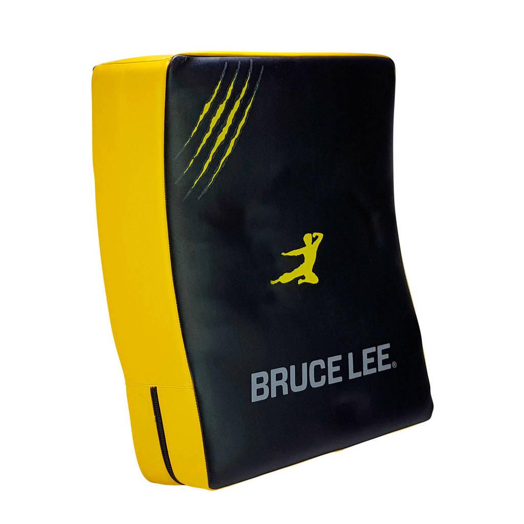 Bruce Lee Signature Stootkussen, Geel/zwart