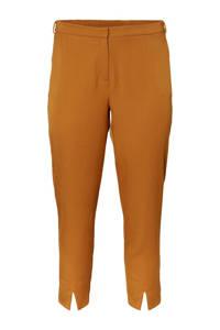 I.SCENERY regular fit pantalon bruin, Oranje