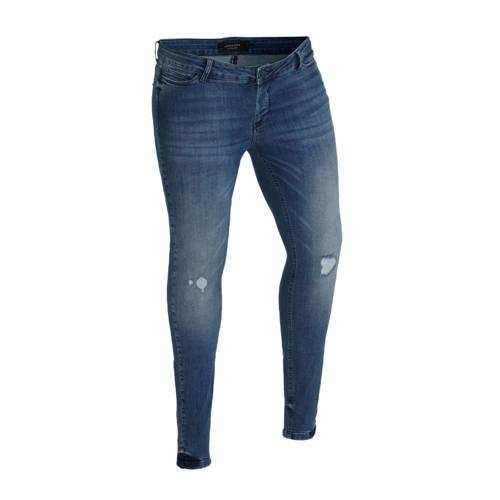 JUNAROSE skinny jeans blauw