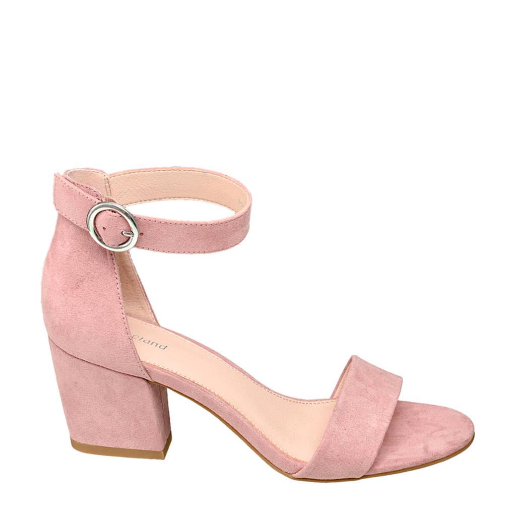 Graceland   sandalettes pastelroze, Pastelroze