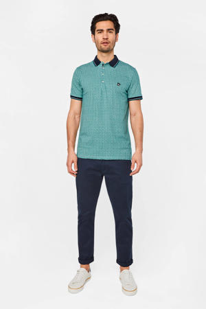 slim fit polo sea storm