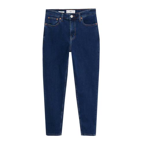 Mango high waist slim fit jeans blauw