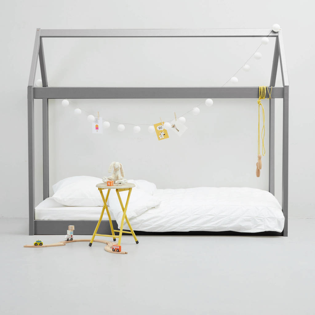 whkmp's own Evi Kinderbed (90x200 cm), Grijs