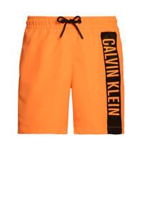 CALVIN KLEIN zwemshort oranje/zwart, Oranje
